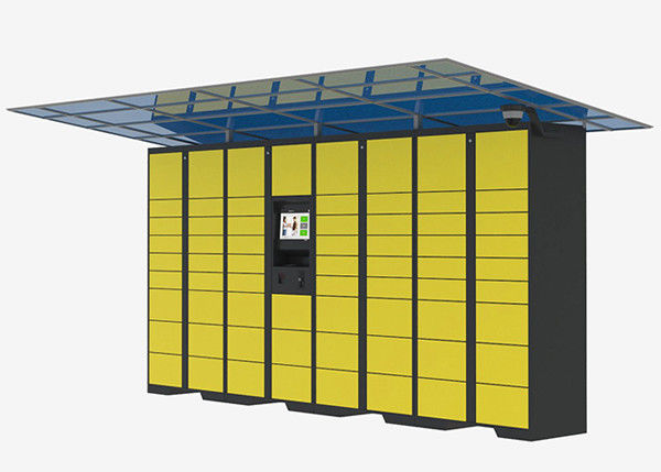 Intelligent Locker Delivery Service Lockers , Network Remote Control Post Parcel Locker supplier