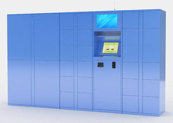 Electronic Parcel Delivery Lockers with Secure Delivery Option Multi Languages supplier