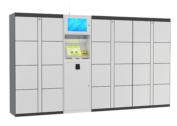 Self Service Indoor Parcel Cabinet Intelligent For Logistics Mail ...