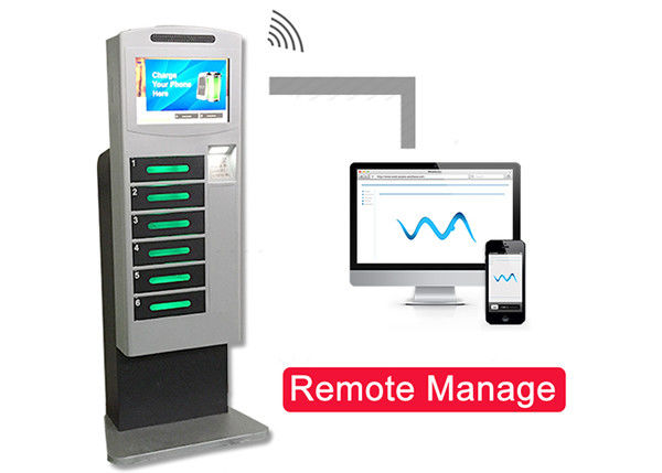 Advanced Cell Phone Charging Station Remote Manage Function Wireless Option supplier