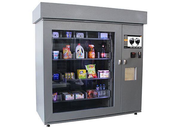 Self Service DVD Vending Kiosk , Coin Operated Multifunction Beer Vending Machines supplier