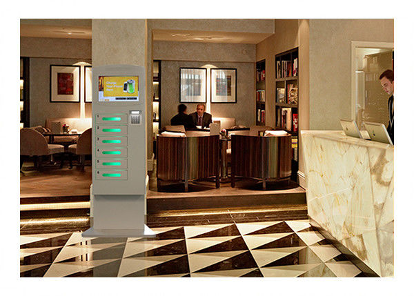 touch screen wifi ticketing cell phone charging station self service for casino bar coffee restaurant club
