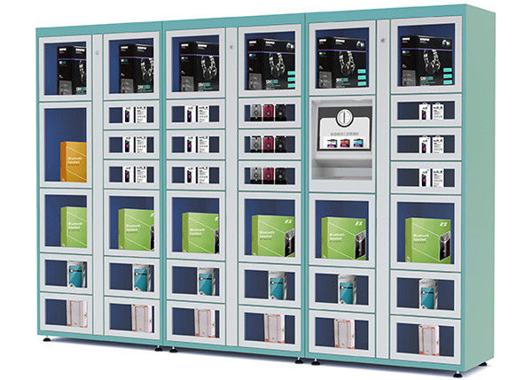 Airport / Station Automated Vending Lockers with Remote Control Function supplier