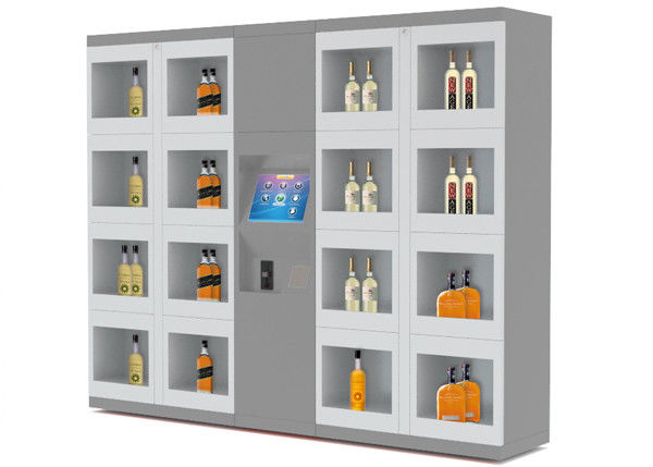 Non - Refrigerate Electronic Vending Lockers For Self Service Shopping