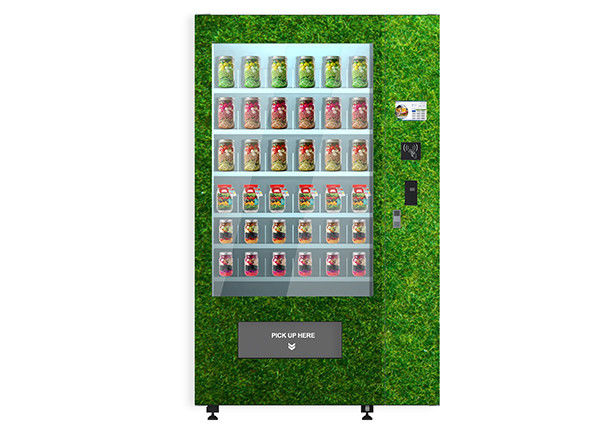Egg Vegetables Salad Belt Conveyor Combo Elevator Vending Machine Remote Controlled supplier