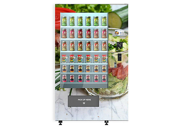 University School Intelligent Salad Vending Machine , Automated Salad Vending Tower supplier