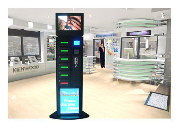 Shopping Mall Cell Phone Charging Station Mobile Phone