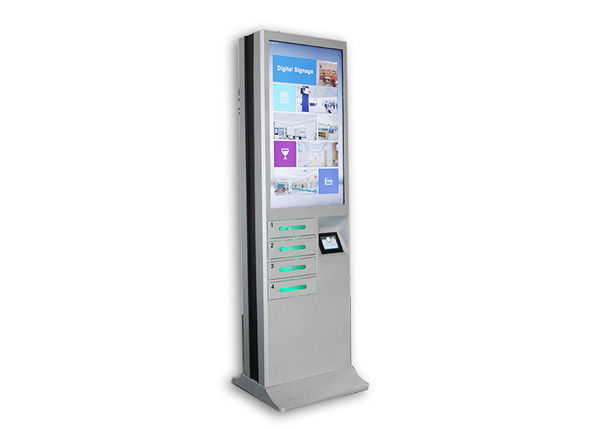 Chargeable Digital Signage Cell Phone Charging Lockers 43