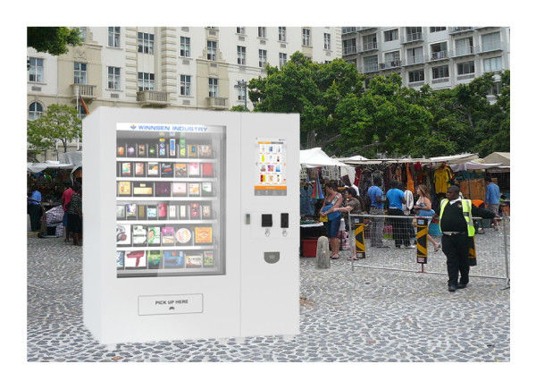 Modern Design Custom Refrigerated Vending Machine For Snack Food / Potato Chips supplier