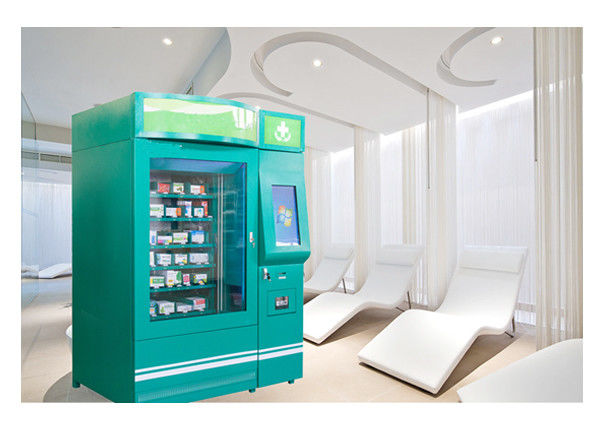 Medicine Auto Pharmacy Vending Machine Touch Screen , Pharmaceutical Vending Machines supplier