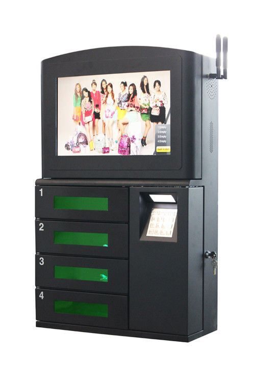 Bars And Restaurants Cell Phone Lockers , Wall Mounted Cell Phone Charging Station supplier