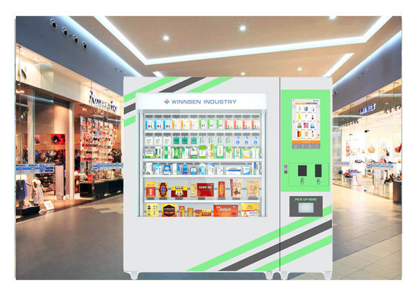 22 Inch Self Service Pharmacy Vending Machine With Automatic Sales Report supplier