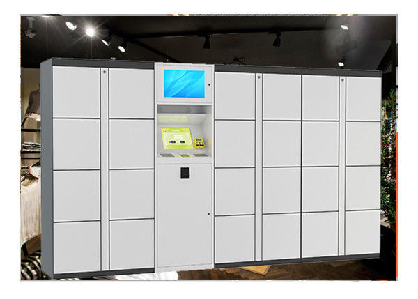 Coin Operated Digital Smart Parcel Delivery Lockers For Rental In Public supplier