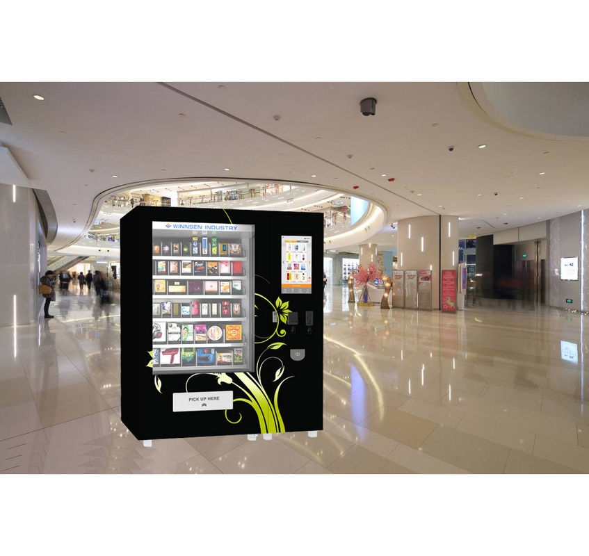 Biscuits Cookies Mini Mart Vending Machine With Adjustable Channels Big Touch Screen supplier