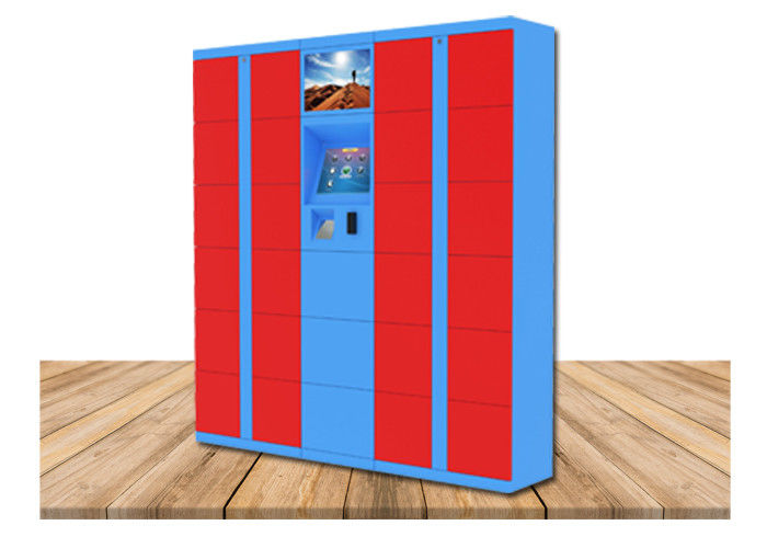 Digital Post Parcel Delivery Electronic Locker Rental In Public For Charging Phone supplier