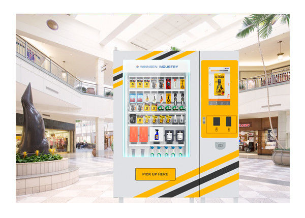24 Hours Self Service Coin Operated Vending Machine Kiosk With Remote System supplier