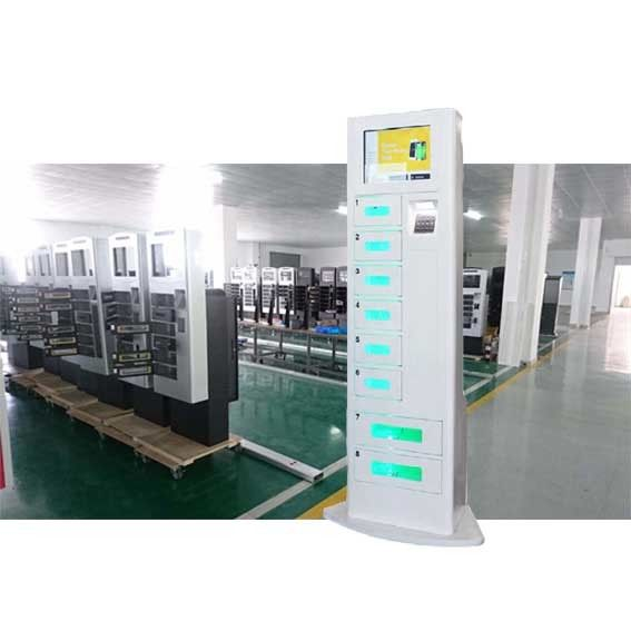 Airport Shopping Mall Cell Phone Charging Stations , Mobile Phone Locker supplier