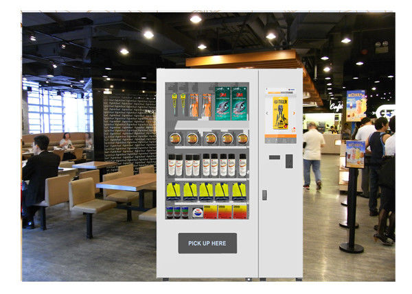 Multi Language Mini Mart Vending Machine , Custom Safety Products Vending Kiosk supplier