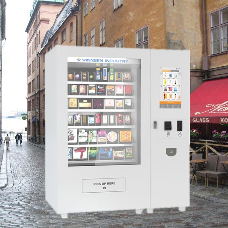 Custom Coin Operated Snack And Drink Vending Machines For Beverage Bottled Water supplier