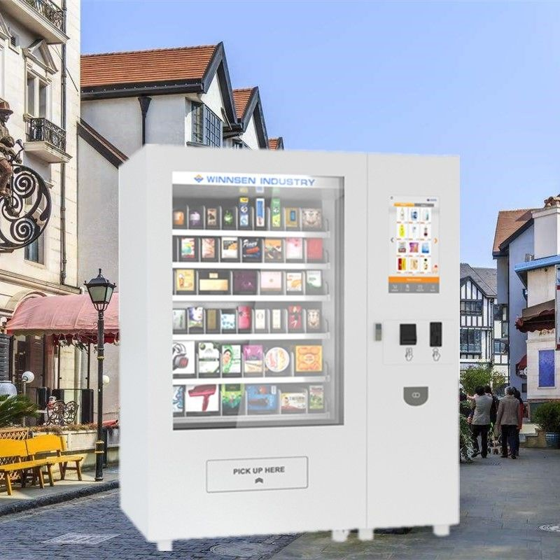 32 Inch Lucky Box Touch Screen Food Vending Machine With ODM / OEM Order supplier