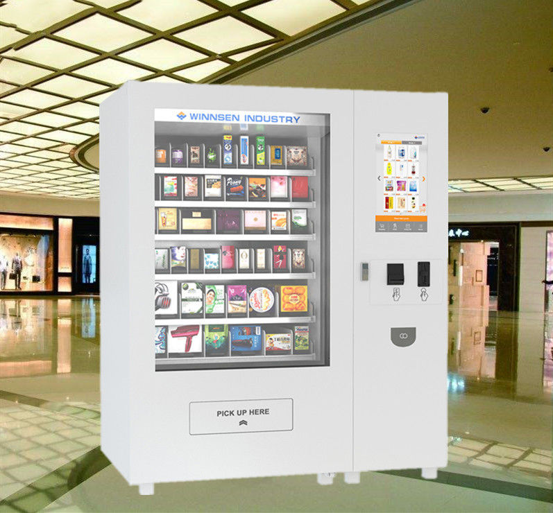 "Phone Products Mini Mart Vending Machine Kiosk 22"" Touch Screen Operated supplier"