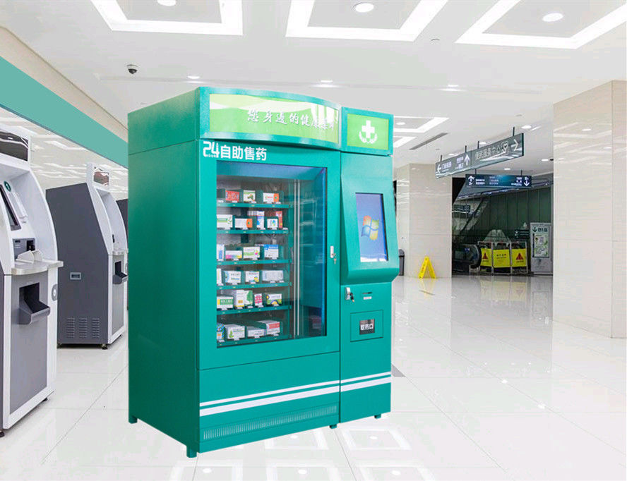 Adjustable Channel Pharmaceutical Vending Machines Automatic Vending Kiosk Machine supplier