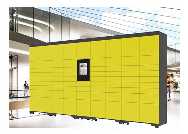 Airport Bus Station Luggage Deposit Storage Public Lockers With Language Custom
