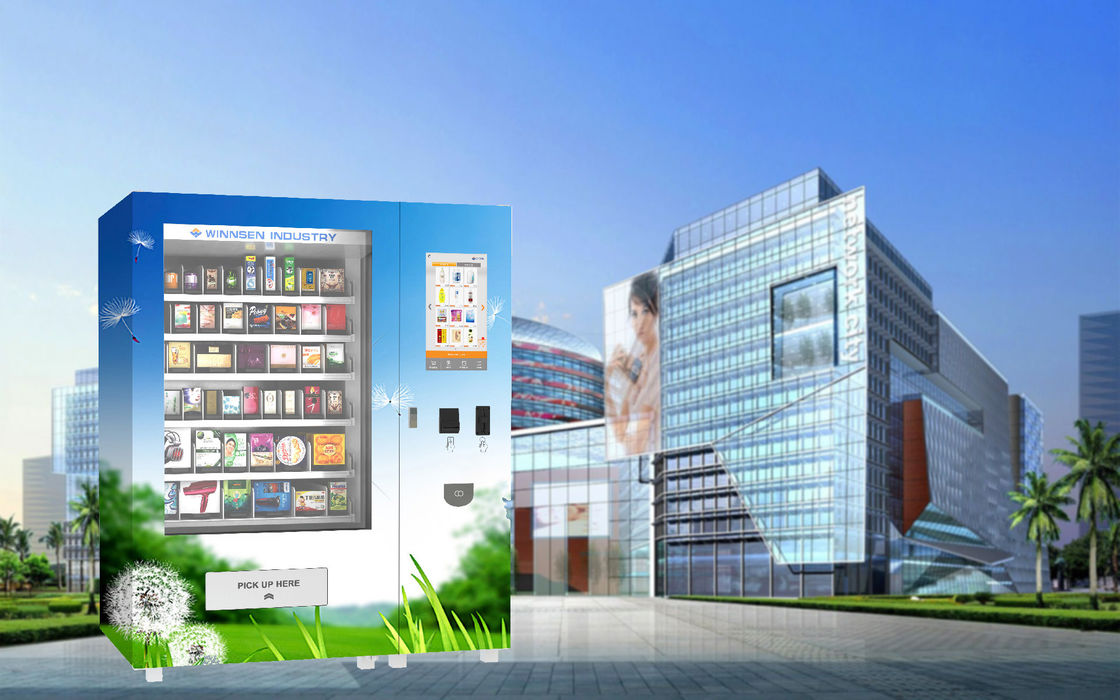 Winnsen Pharmacy Vending Machine , Combo Snack Vending Machine 22 Inch Touch Screen supplier