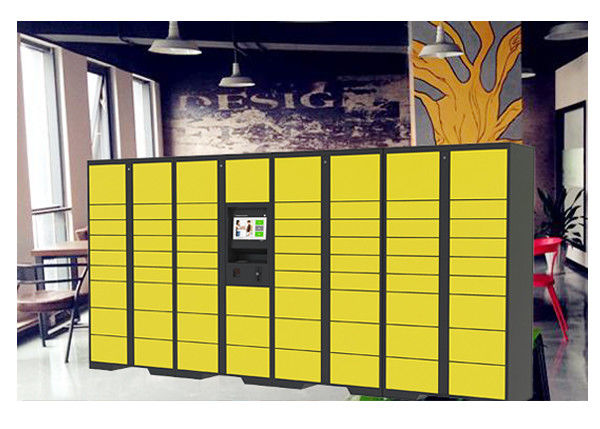 Network Remote Manage Storage Parcel Delivery Lockers With RFID Card Reader supplier