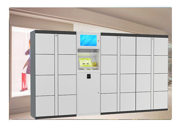 Network Signage Express Parcel Delivery Lockers Cabinet With Online Management supplier