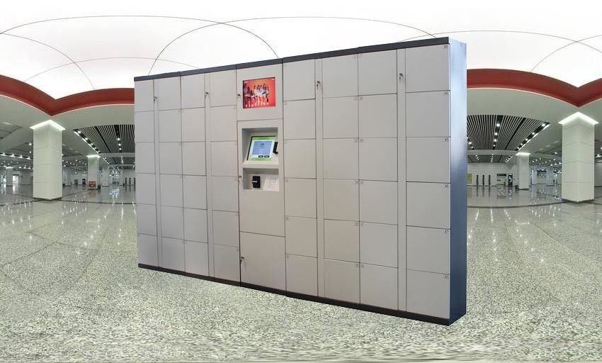 Intelligent Logistic Parcel Delivery Lockers With Simple Work Flow And Payment Device supplier