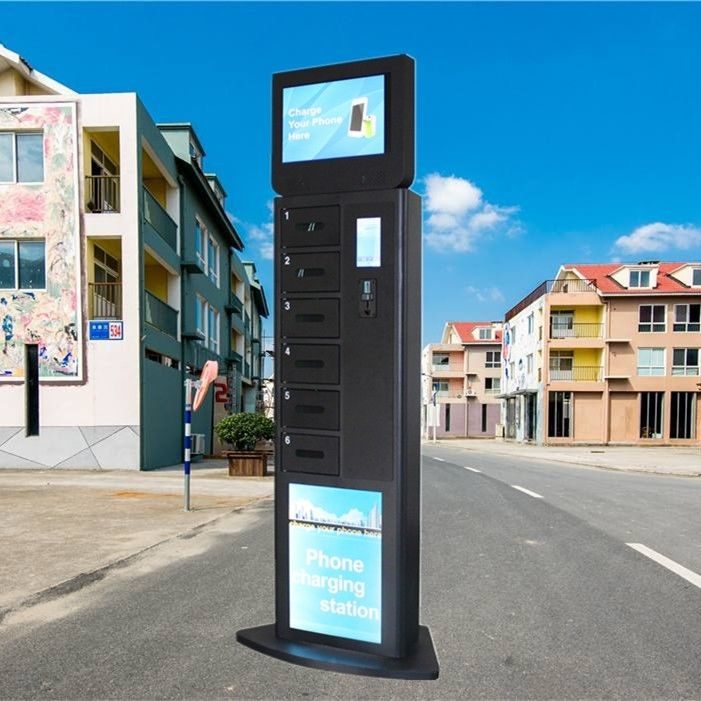 Standing Style Phone Charging Locker Kiosk With Fast Charge Technology supplier