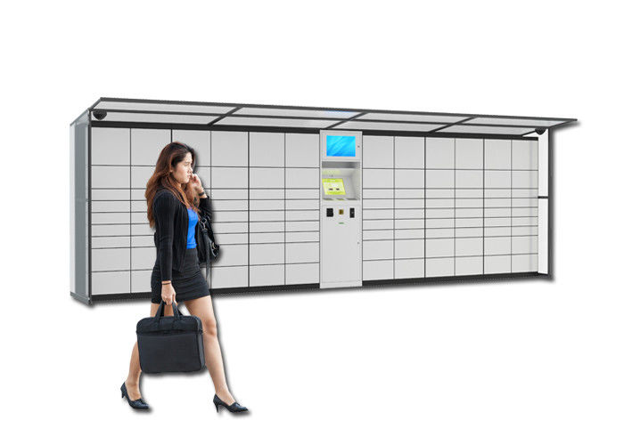 OEM Supermarket Storage Electronic Rental Locker With Payment Model And Remote Control System