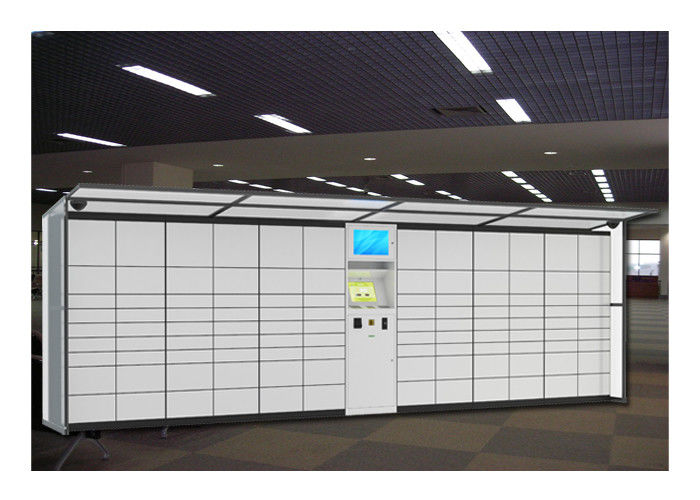Airport Station Electronic Storage Luggage Lockers Container Rental With Pin Code Access supplier