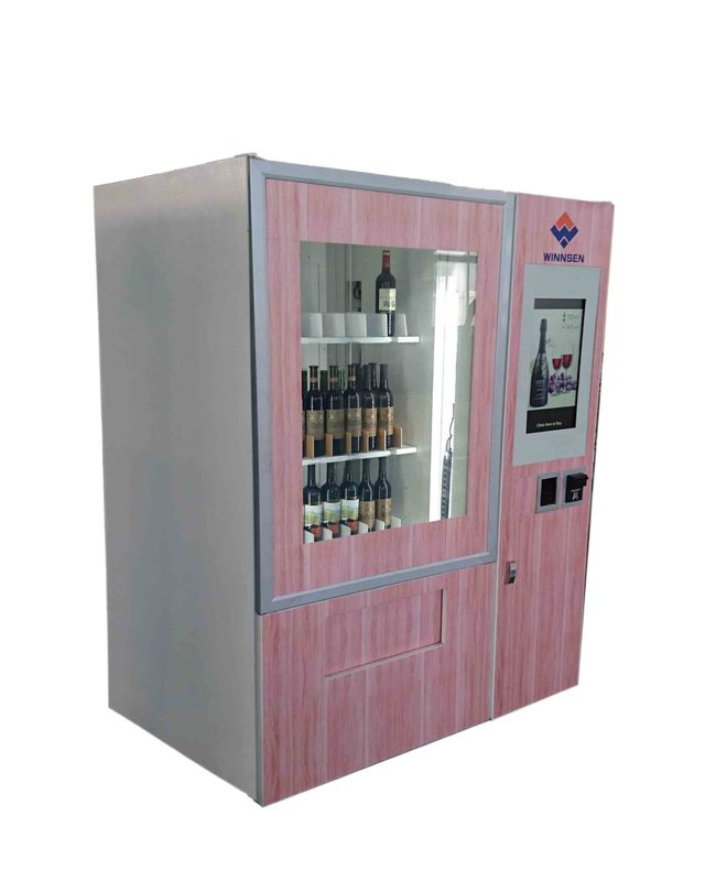 Produced Indoor Use Smart Vending Machine With Different Payment Devices supplier