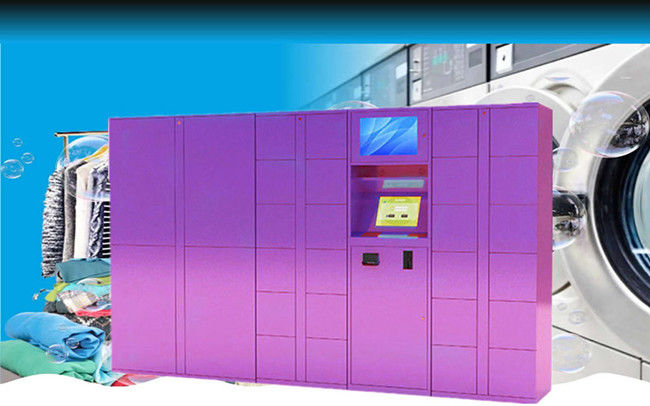 24/7 Available Electronic Indoor Drop Off Laundry Locker For Gym Sports Center With One Year Warranty supplier