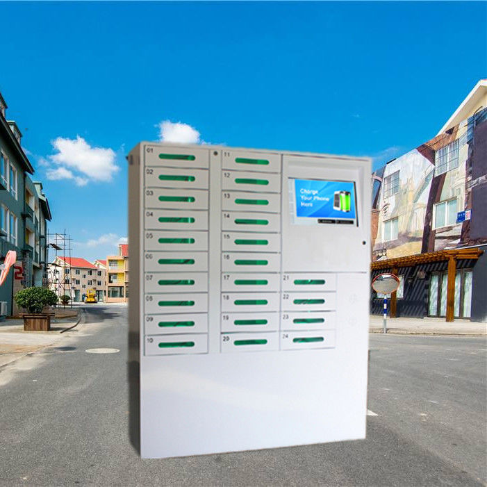 Wifi Access Cell Phone Charging Stations Solar Powered Mobile Phone Charging Vending Machine supplier
