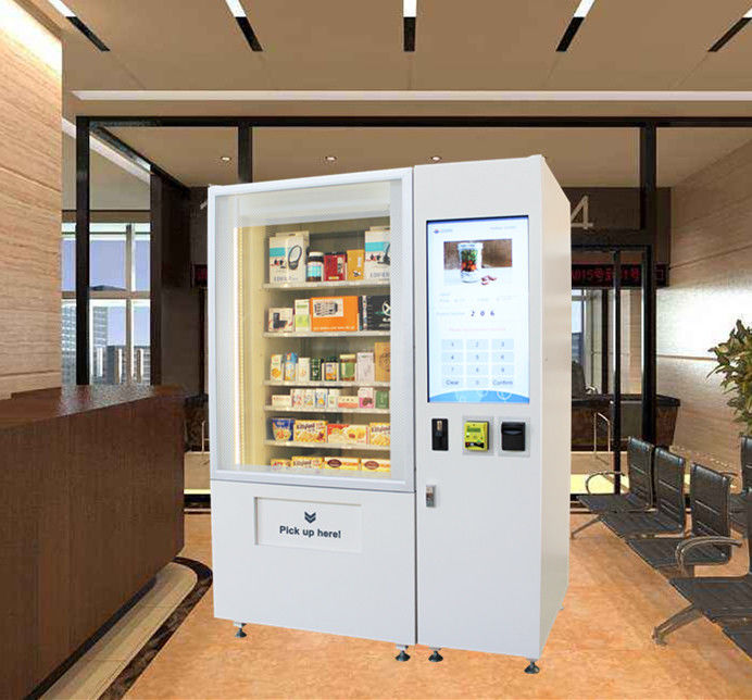 Intelligent Mini Mart Vending Machine Cabinet Weighing Solution Provider supplier