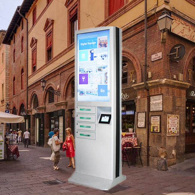 Outdoor Locker Cell Phone Charging Stations Public Cell Phone Charging Kiosk For Airport supplier