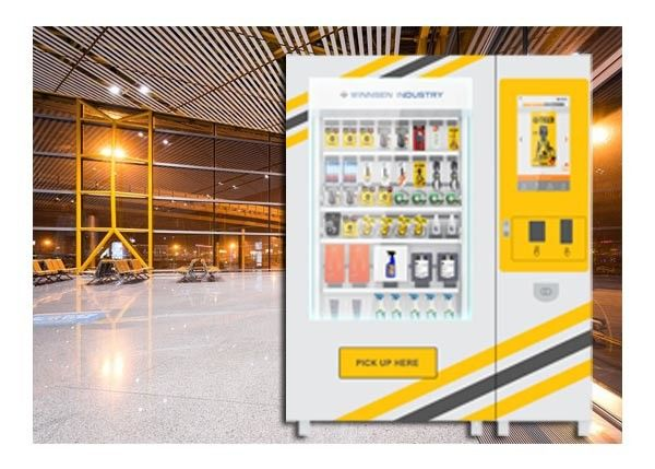 Customized Size Mini Mart Vending Machine , Industrial Tool Vending Machine supplier