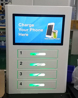 Wall Mount Multi Device Charging Locker , Smart Cell Phone ...