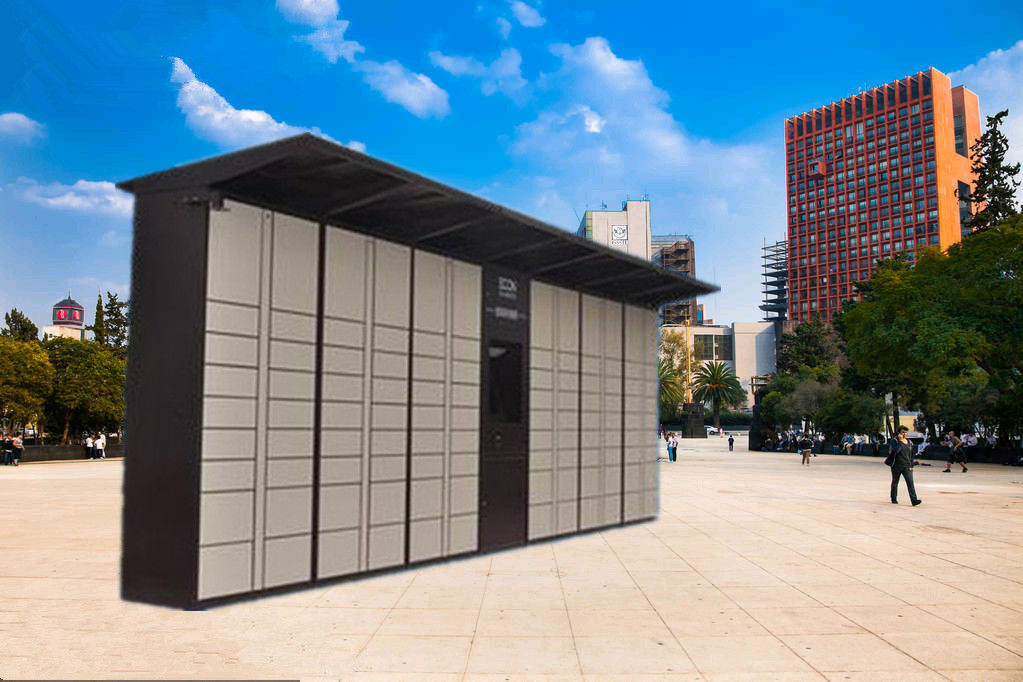 24 Doors Electronic Intelligent Logistic Parcel Locker Package Lockers