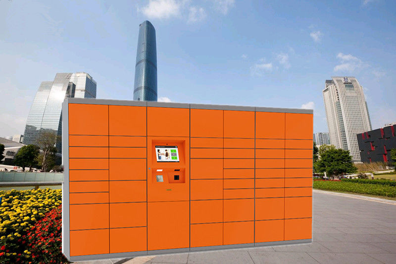 Outdoor Logistics Post Parcel Delivery Electronic Locker For Bus Station supplier