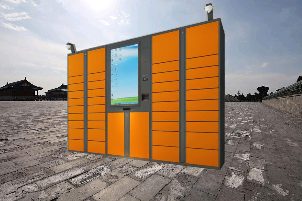 36 Intelligent Indoor Parcel Delivery Lockers , Electronic Express Locker supplier