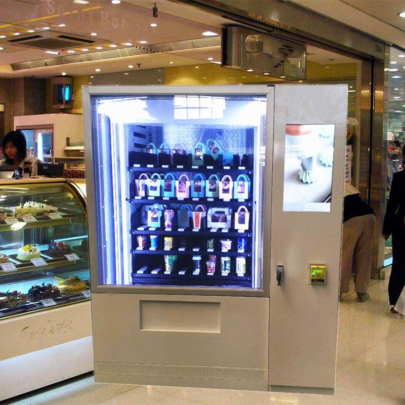 coin operated snack vending machine