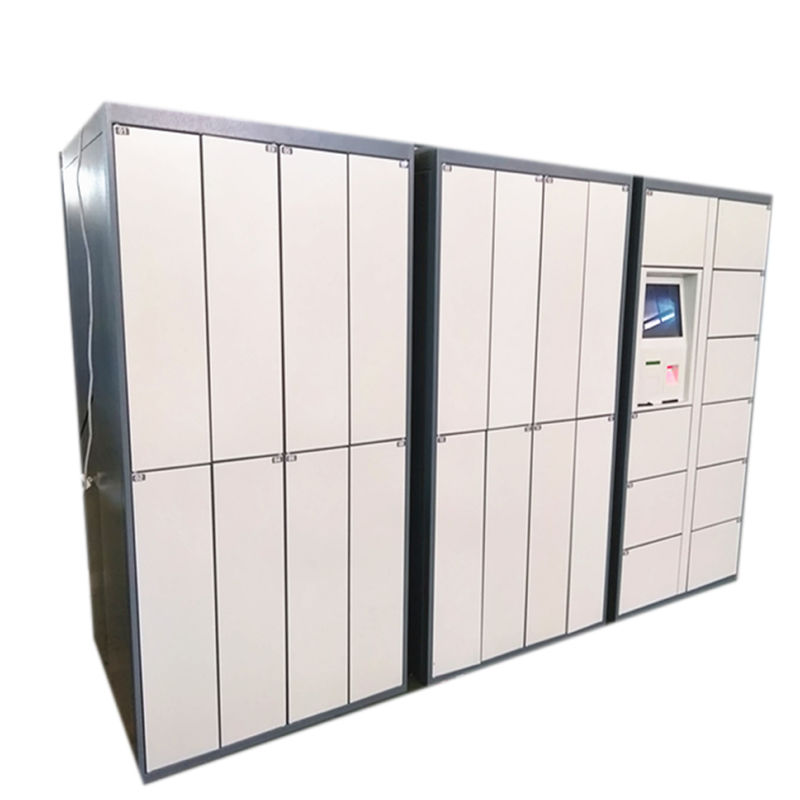 24 Hours Intelligent Smart Electronic Dry Cleaning Locker Systems with Touch Screen supplier