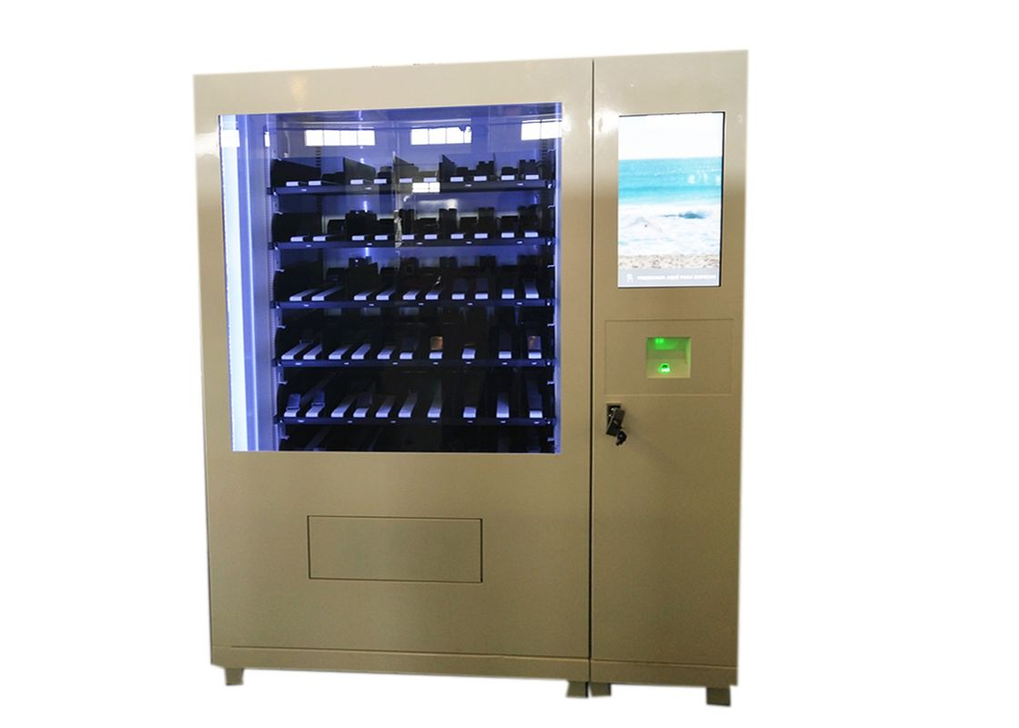 Automated Salad Vending Machines Accept Prepaid Card Member Card For Fitness Centre supplier