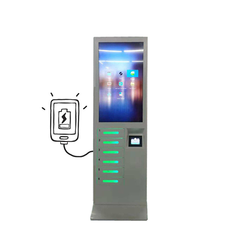 Restaurant Multiple Cell Phone Mobile Phone Charging Stations Locker Kiosk Vending Machine supplier