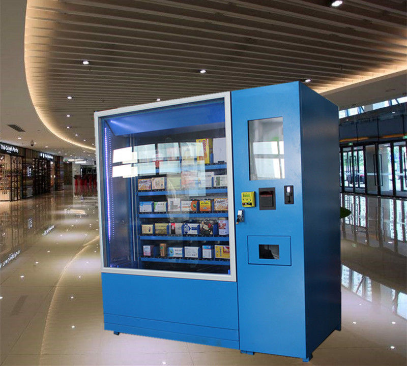Automatic Operated Frozen Food Refrigerated Vending Machines Made From Reliable Steel supplier
