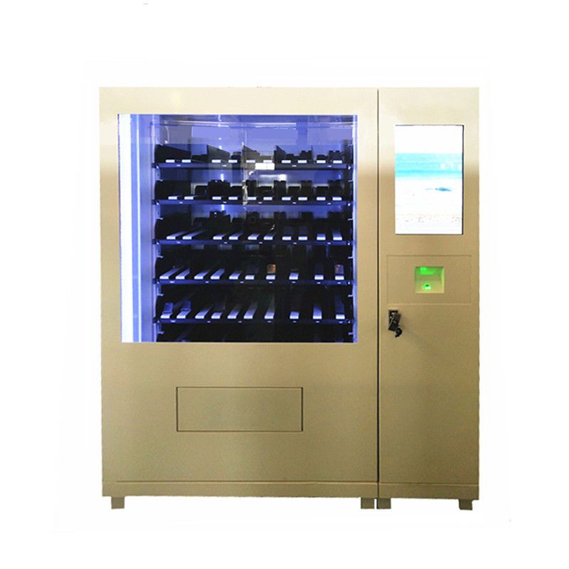 Electronics Self Service Mini Mart Vending Machine Food Beverage Vending Kiosk with 22 inch Touch Screen for Public supplier